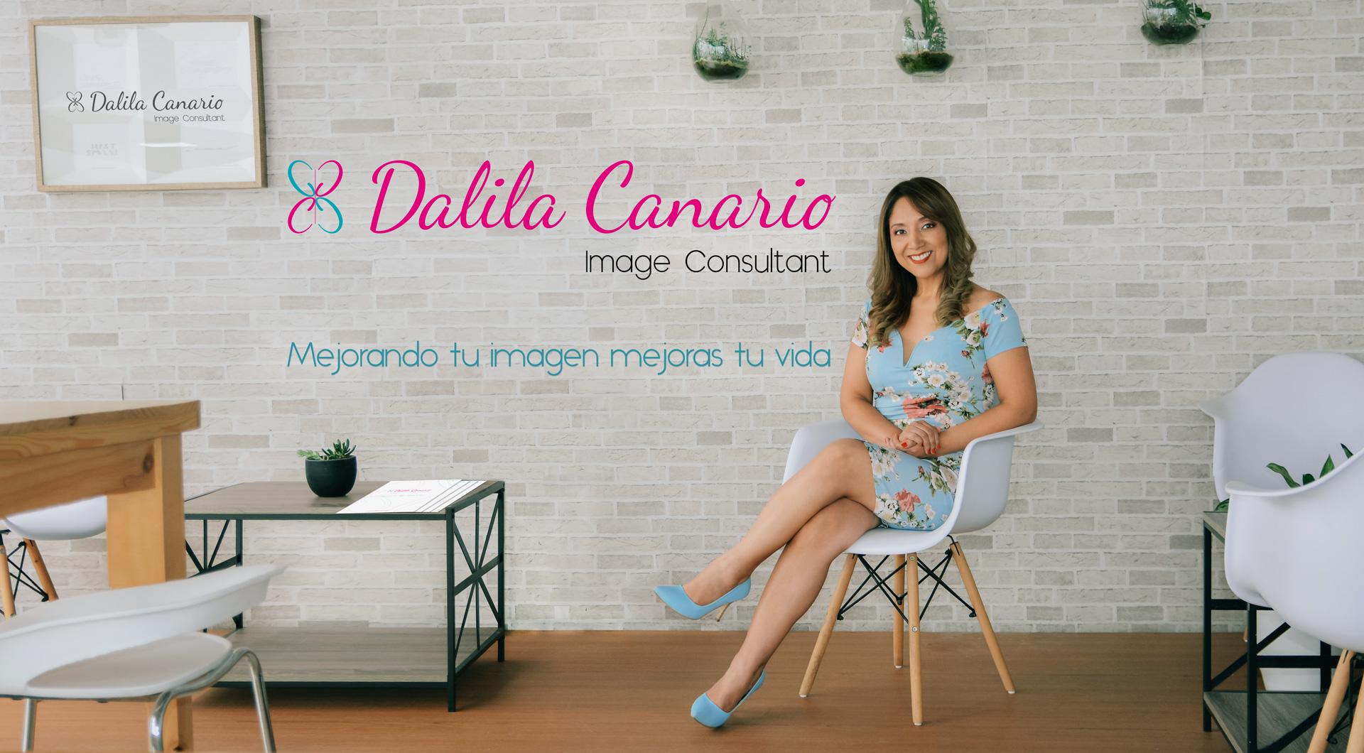 DALILA CANARIO Image Consultant Header